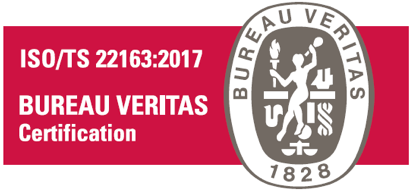 Certyfikat ISO/TS 22163:2017
