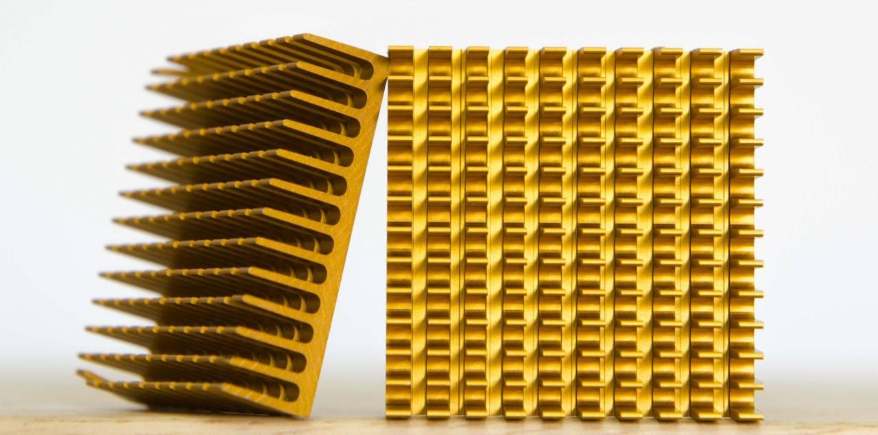 Chromianowanie żółte aluminium